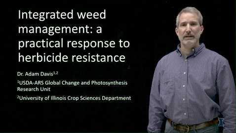 Thumbnail for entry Integrated Weed Management: Things That We Can Do