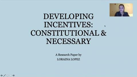 Thumbnail for entry Loraina Lopez Capstone Presentation