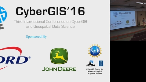 Thumbnail for entry Introduction to CyberGIS16