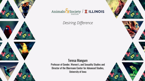 Thumbnail for entry Teresa Mangum, Desiring Difference, 2021 ASI UI Summer Institute
