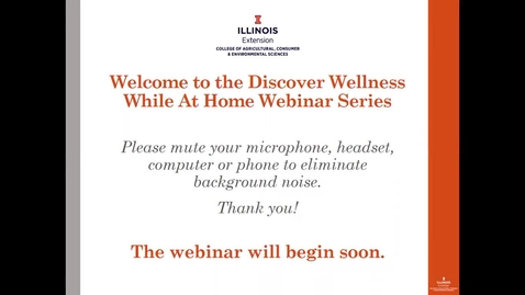 Thumbnail for entry Caregiver Self Care - Discover Wellness Series