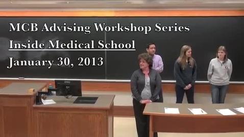 Thumbnail for entry Inside Medical School