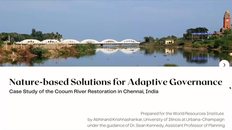 Thumbnail for entry Nature-based Solutions for Adaptive Governance