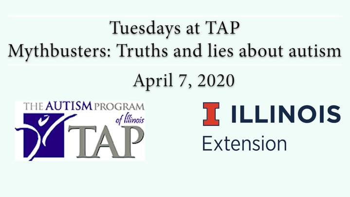 Thumbnail for channel The Autism Program (TAP) at UIUC