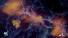 Thumbnail for entry Solar Superstorms visualization excerpt: The Formation of First Stars and Galaxies