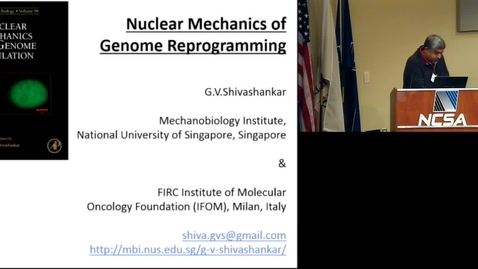 Thumbnail for entry Nuclear mechanics and genome regulation