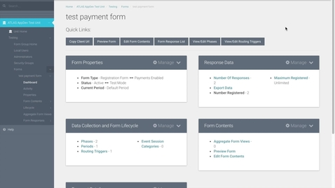 Thumbnail for entry ATLAS FormBuilder - How to add and edit a payment line item
