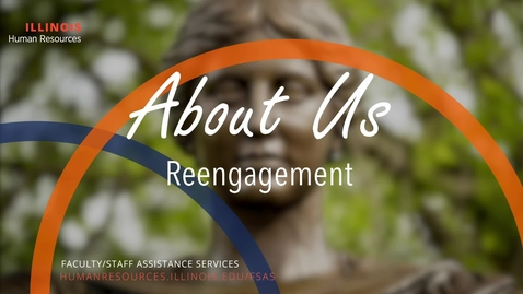 Thumbnail for entry About Us: Reengagement