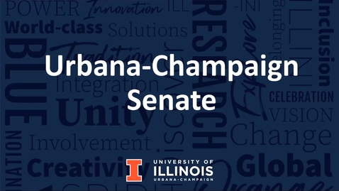 Thumbnail for entry Academic Senate Meeting, Apr. 5, 2021
