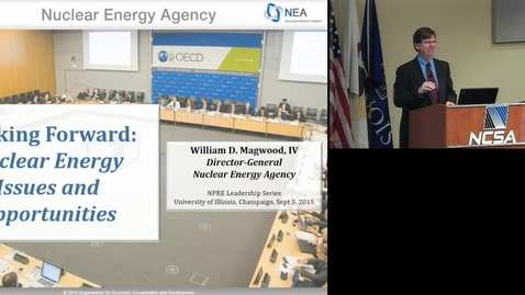 Thumbnail for entry William D. Magwood, IV, NPRE 2015 Leadership Speaker Series