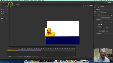 Thumbnail for entry MDIA290 - Adobe Flash ActionScript3