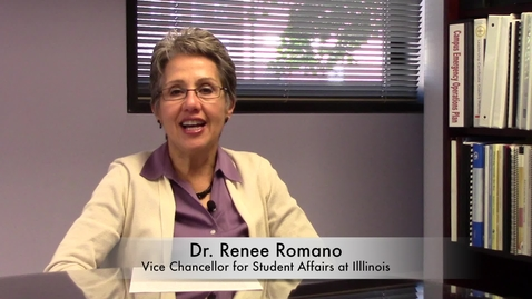 Thumbnail for entry Vice Chancellor for Student Affairs Blog #1