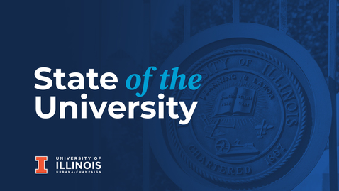 Thumbnail for entry State of the University 2020