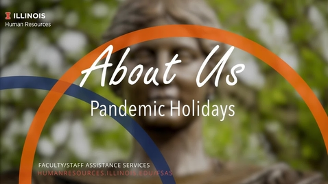 Thumbnail for entry About Us: Pandemic Holidays
