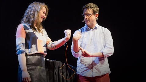 Thumbnail for entry How to control someone else's arm with your brain | Greg Gage
