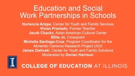 Thumbnail for entry Education and Social Work Partnerships in Schools