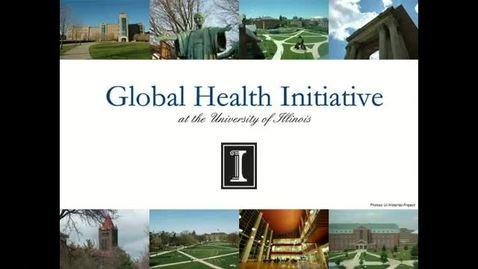 Thumbnail for entry Illinois Global Health Initiative - Dr. Ratzan Seminar