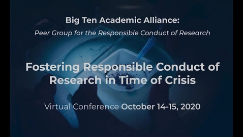 Thumbnail for entry Kelly Laas - A Draft Declaration of Principles for Research in the Big Ten Academic Alliance: A Challenge to Researchers, Administrators, and Institutional Leaders