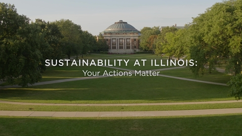Thumbnail for entry Sustainability Training at the University of Illinois