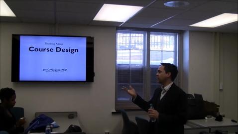 Thumbnail for entry Backward Course Design pt1