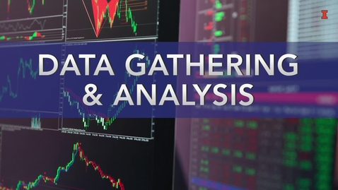 Thumbnail for entry Data Gathering and Analysis