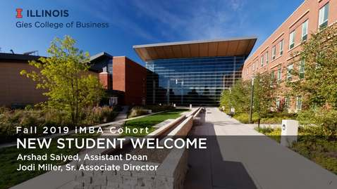 Thumbnail for entry iMBA New Student Webinar