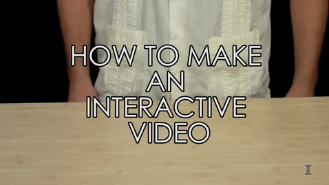 Thumbnail for entry Interactive Video Tutorial