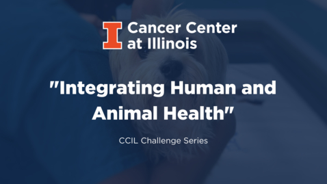 Thumbnail for entry Integrating Human and Animal Health