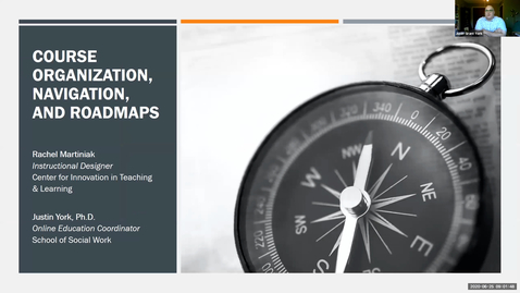 Thumbnail for entry OTA: Course Organization, Navigation and Roadmaps