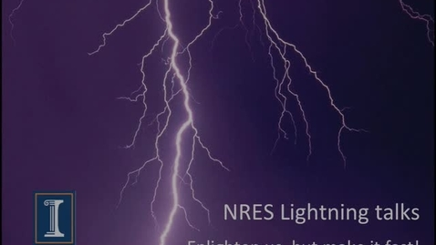 Thumbnail for entry NRES 2013 Fall Seminar Series - NRES Background Research Areas vs. Time