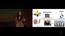 Thumbnail for entry 2018 Research Live! Parinaz Fathi: 3D-Printed Gastrointestinal Stents