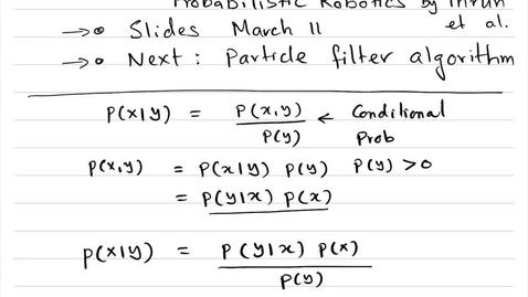 Thumbnail for entry 1.2-BayesFilter-498SMA