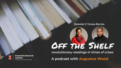 Thumbnail for entry Off the Shelf Podcast: Episode 2 | Teresa Barnes on Apartheid and Higher Education