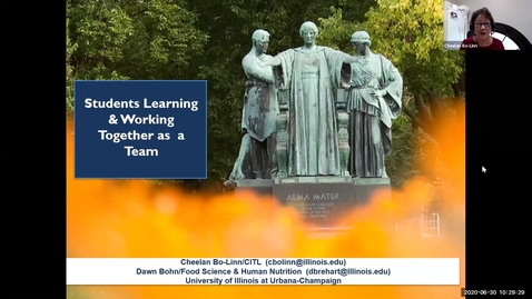 Thumbnail for entry OTA: Students Learning & Working Together as a Team
