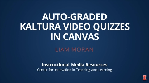 Thumbnail for entry Video Quiz in Canvas