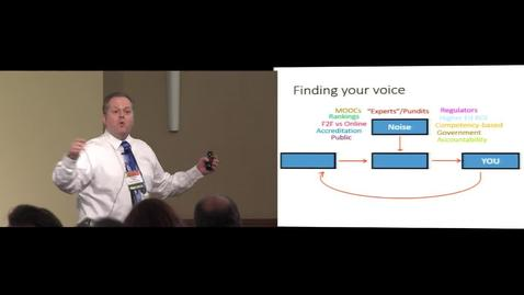 Thumbnail for entry (FSI Keynote) Finding Your Voice Amid the Noise of Higher Education