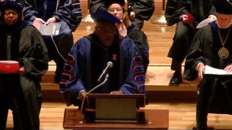 Thumbnail for entry 2017 December University of Illinois Doctoral Hooding Ceremony