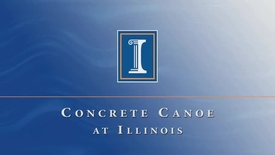Thumbnail for entry Concrete Canoe at Illinois