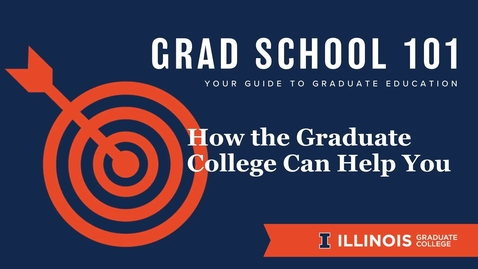 Thumbnail for entry Grad School 101: How We Help