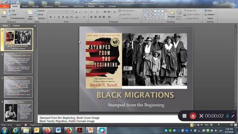 Thumbnail for entry Black Migrations: Stamped from the Beginning