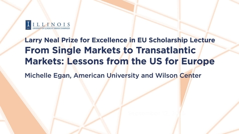 From Single Markets to Transatlantic Markets: Lessons from the United States for Europe