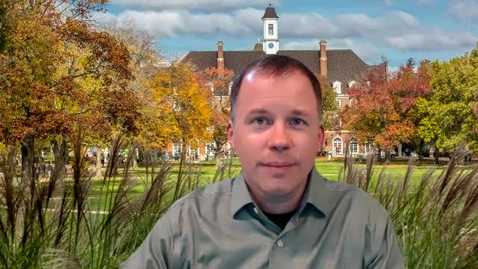 Thumbnail for entry Week 12 - GS 101 Summary - Dr. Daniel Turner, DGS Director
