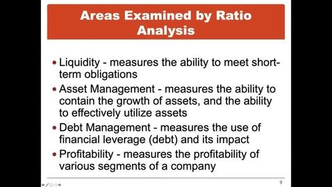 Thumbnail for entry Asset Management Ratios
