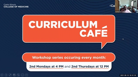 Thumbnail for entry Curriculum Café - Simulation and Jump Arches - May 10