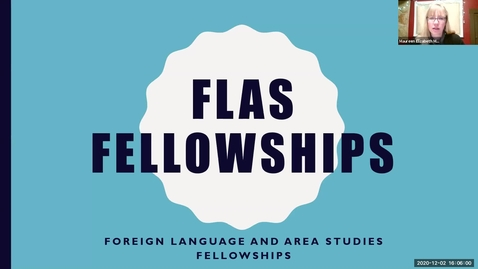 Thumbnail for entry IGI FLAS Fellowship Information Session - Graduate