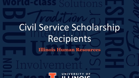 Thumbnail for entry Civil Service Employees and Dependents Scholarship Program Fund in Honor of Marjorie Beasley 2021 Recipients