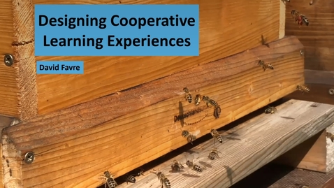 Thumbnail for entry Designing Cooperative Learning Experiences