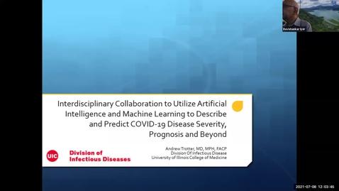 Thumbnail for entry AI Center Summer Seminar Series - Speaker: Dr. Andrew Trotter, University of Illinois College of Medicine, Chicago