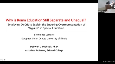 """Thumbnail for entry Why is Roma Education Still Separate and Unequal?: Employing Dis/Crit to Explain the Enduring Overrepresentation of """"Gypsies"""" in Special Education"""