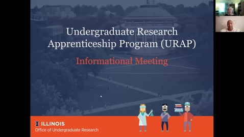 Thumbnail for entry 2021/22 Undergraduate Research Apprenticeship Program Informational Meeting
